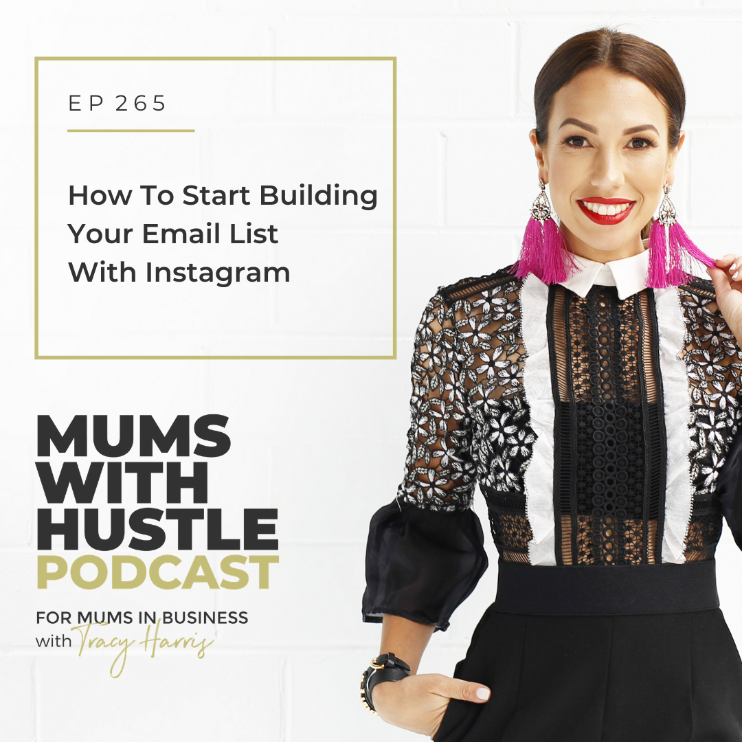 MWH 265 : How To Start Building Your Email List With Instagram
